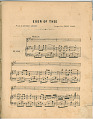 View Ever of Thee [sheet music] digital asset: Ever of Thee [sheet music].