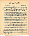 View Rock Me to Sleep, / Mother [sheet music] digital asset: Rock Me to Sleep, / Mother [sheet music].