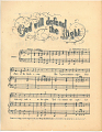 View God Will Defend / the Right [sheet music] digital asset: God Will Defend / the Right [sheet music].