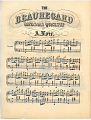 View The Beauregard Manassas Quick-Step [sheet music] digital asset: The Beauregard Manassas Quick-Step [sheet music].