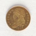 View 5 Dollars, United States, 1808 digital asset number 0