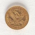 View 5 Dollars, United States, 1866 digital asset number 1