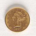 View 10 Dollars, United States, 1897 digital asset number 0