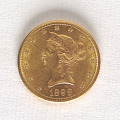 View 10 Dollars, United States, 1898 digital asset number 0