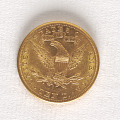 View 10 Dollars, United States, 1898 digital asset number 1
