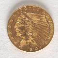 View 2 1/2 Dollars, United States, 1914 digital asset number 0