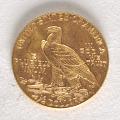 View 2 1/2 Dollars, United States, 1914 digital asset number 1