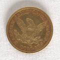 View 5 Dollars, United States, 1852 digital asset number 1