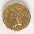View 20 Dollars, United States, 1855 digital asset number 0