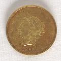 View 10 Dollars, United States, 1855 digital asset number 0