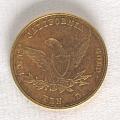 View 10 Dollars, United States, 1855 digital asset number 1