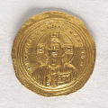 View 1 Solidus (histamenon nomisma), Byzantine Empire, 1034 - 1041 digital asset number 1