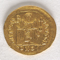 View 1 Solidus, Byzantine Empire, 582 - 602 digital asset number 1
