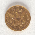 View 5 Dollars, United States, 1881 digital asset number 1