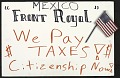 "View Mexico 'Front Royal' / We Pay / $ Taxes $ / Citizenship Now!"" digital asset number 1"