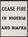 View Cease Fire in Nigeria digital asset number 0