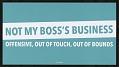 View Not My Boss's Business digital asset number 0