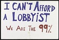 View I Can't Afford a Lobbyist digital asset number 0