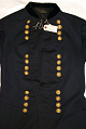 View US Army Officer's Frock Coat worn by William Tecumseh Sherman digital asset: US Army Officer Frock Coat worn by William Tecumseh Sherman, detail view