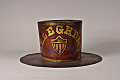View Allegheny Parade Hat digital asset: Allegheny Fire Company Parade Hat, front view