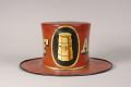 View Fairmount Fire Company Fire Hat digital asset: Fairmount Parade Hat, back