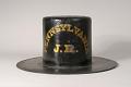 View Pennsylvania Hose Company Fire Hat digital asset: Pennsylvania Hose Company Parade Hat, back