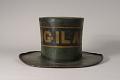 View Viligant Fire Hat digital asset: Vigilant Parade Hat, back