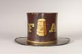 View Washington Fire Company Parade Hat digital asset: Washington Fire Company Parade Hat back