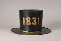 View Morris Hose Fire Hat digital asset: Morris Hose Parade Hat, back