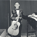 View Photographic History Collection: Henry Horenstein digital asset: Born Clarence Eugene Snow (1914-1999) and known as The Singing Ranger, Hank Snow possessed one of the most distinctive voices and styles in country music.