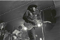 "View Photographic History Collection: Henry Horenstein digital asset: Talented on many instruments, Clarence ""Gatemouth""  Brown (1924-2005) was one of the most versatile musicians of his time. Gatemouth said he just wanted to play American music ""Texas-style."""