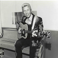 View Photographic History Collection: Henry Horenstein digital asset: Porter Wagoner (1927-2007) began recording music in 1954 after years of singing on a local radio station. In 1961, he hosted his own country music television show, which was syndicated for 21years