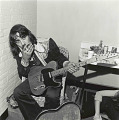 View Photographic History Collection: Henry Horenstein digital asset: Waylon Jennings (1937-2002) rejected slick commercial conventions of the time and demanded more control of his music. His lifestyle personified what became known as the Outlaw Country movement.