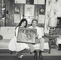 View Photographic History Collection: Henry Horenstein digital asset: Wilma Lee (Leigh Leary, b. 1921) and Stoney Cooper (Dale Troy, 1918-1977) rank as one of the great husband-wife teams in country music.  Their musical careers helped to bridge older and newer styles.