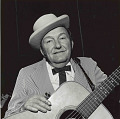 View Photographic History Collection: Henry Horenstein digital asset: Lester Flatt ranks as one of the all-time preeminent lead singers in bluegrass music. He spent the major years of his career, from 1948 to 1969, as half of the legendary team of Flatt & Scruggs.