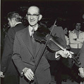 View Photographic History Collection: Henry Horenstein digital asset: Sidney J. Fiddlin'' Sid Harkreader (1898-1988) was well known as the fiddler and vocalist who accompanied Uncle Dave Macon from the earliest days of the Grand Ole Opry.