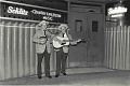 View Photographic History Collection: Henry Horenstein digital asset: The Lilly Brothers are credited with bringing the bluegrass sound to New England and the Boston area, with lengthy stints at the Hillbilly Ranch from 1952 into the 1970s.