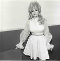 "View Photographic History Collection: Henry Horenstein digital asset: When Horenstein photographed Rebecca ""Dolly"" Parton (b. 1946), she already had twenty albums to her name.  But the crossover hit, Here You Come Again, made her a superstar in 1977."