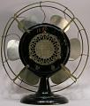 View General Electric model 1Z821 electric fan digital asset: back
