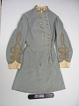 View Confederate Army Brigadier General Marcus J. Wright's Frock Coat digital asset: Coat, front