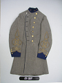 View Confederate Army Colonel Robert W. Harper's Frock Coat digital asset: Coat, front