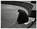 View Photographic History Collection: Carl Mydans digital asset: Unemployed man sits bowed under the spring sun on Michigan Ave., Chicago
