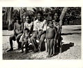 View Photographic History Collection: Carl Mydans digital asset: Bikini Island: King Juda''s family