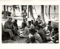 View Photographic History Collection: Carl Mydans digital asset: Bikini Island: Commodore Ben H. Wyatt addresses the natives