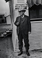 View Photographic History Collection: Carl Mydans digital asset: Police Chief of the oil boom town of Freer, Texas