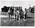 View Photographic History Collection: Carl Mydans digital asset: General Douglas MacArthur lands in the Philippines