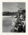 View Photographic History Collection: Carl Mydans digital asset: Bikini natives leaving for Rongerik