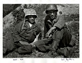View Photographic History Collection: Carl Mydans digital asset: Carl Mydans and David Douglas Duncan during the Korean War