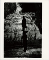 View Photographic History Collection: Ray Metzker digital asset: Man walking on wet pavement, photograph by Ray K. Metzker