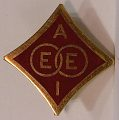 View Two AIEE lapel pins, new style digital asset number 3
